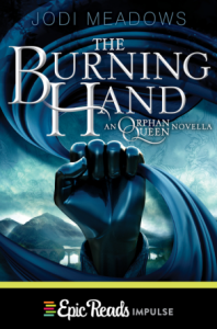 the burning hand orphan queen