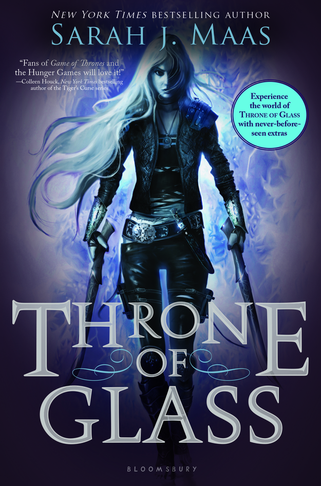 throne of glass cover
