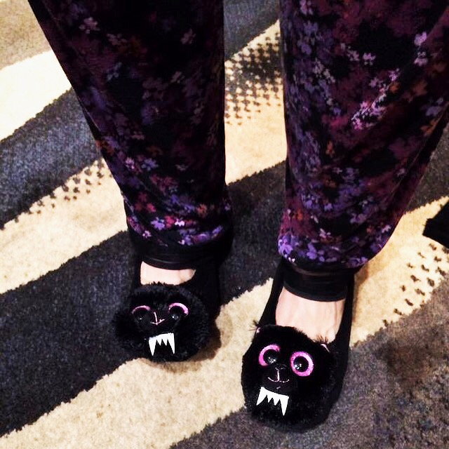 Fuzzy Slippers!