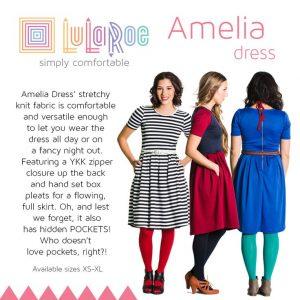 b491a2a6dfc Lularoe Amelia dress Lularoe Amelia 2