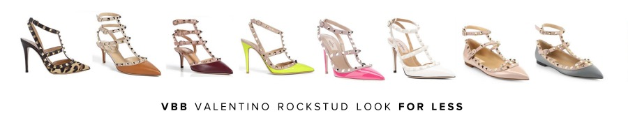 5e2ac6990 Do you love the Valentino rockstud collection… but like most of us, you're  on a budget? I'm obsessed with this look but need a lower price point, ...