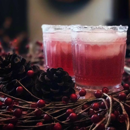 Cocktail Recipe: Pomegranate Cranberry Margarita