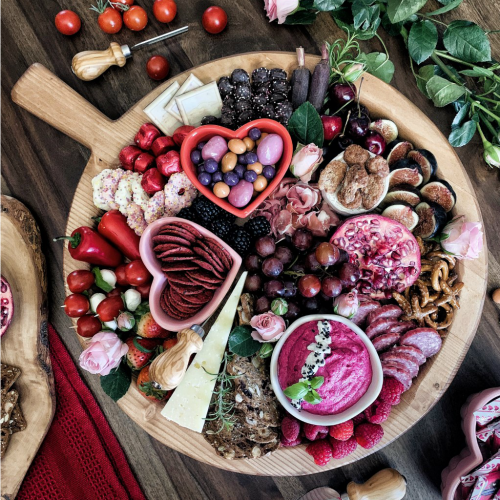 Build A Valentine's Day Charcuterie Board