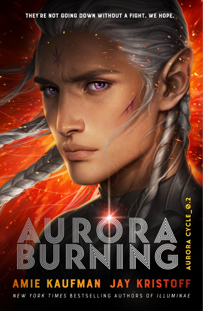 Exclusive Cover Reveal: Aurora Burning